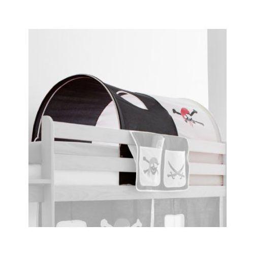 Ticaa kindermöbel Ticaa tunel do łóżek piętrowych pirat kolor biało-czarny (4250393809483)
