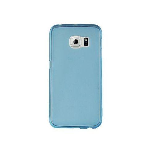 Etui silikonowe FLEXmat do Samsung Galaxy S6 - Niebieski, kolor Niebieski