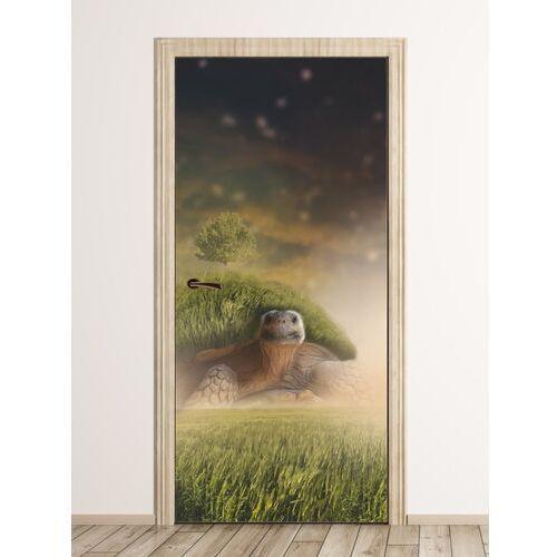 Fototapeta na drzwi baśniowy żółw fp 6095 marki Wally - piękno dekoracji