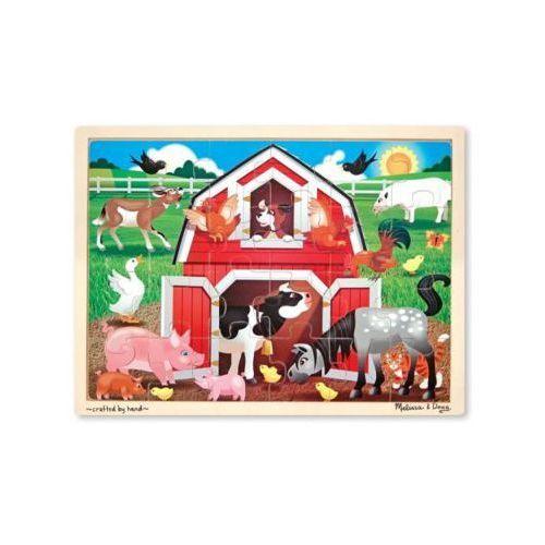 Melissa & doug Puzzle bernyard jigsaw 24pc 19061 (0000772190619)