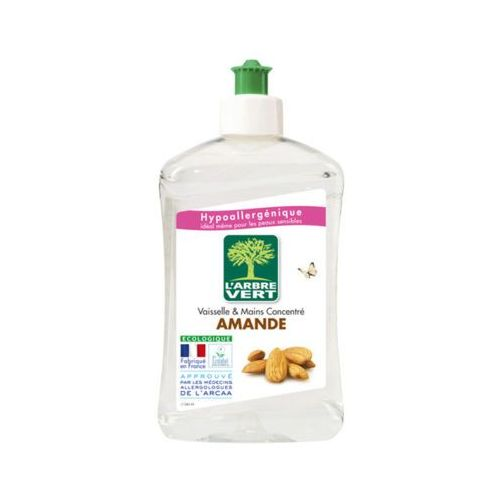 L'arbre vert 500ml amande hipoalergiczny płyn do mycia naczyń marki Novamex