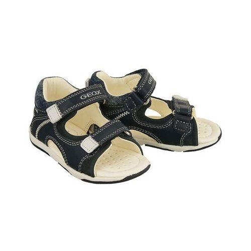 GEOX B720XA TAPUZ 08532 C4211 morski/biały, sandały dziecięce, rozmiary 20-25, kolor zielony