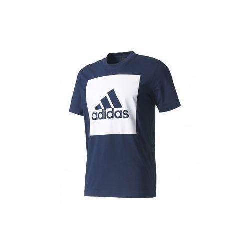 T-shirt essential box logo, Adidas