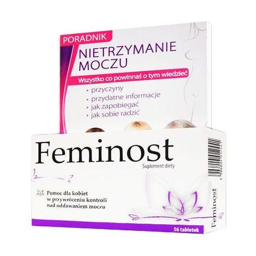 """Tabletki Feminost x 56 tabl powlekanych + poradnik """"Nietrzymanie moczu"""""""