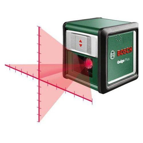 Laser krzyżowy BOSCH Quigo Plus z podziałką + DARMOWY TRANSPORT!