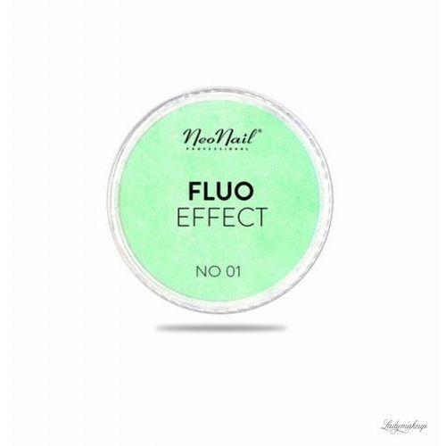 Neonail  - fluo effect - fluorescencyjny pyłek do paznokci - 5399-2 - fluo effect 02