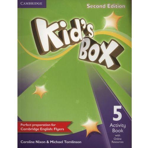 Kids Box 5 Activity Book with Online Resources (88 str.)