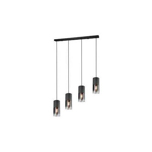 Lampa wisząca leuchten robin czarny, 4-punktowe - skandynawski - obszar wewnętrzny - robin - czas dostawy: od 3-6 dni roboczych marki Trio