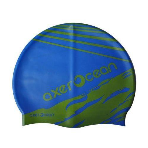 Czepek pływacki axer a2999 ocean młodzieżowy + zamów z dostawą w poniedziałek! marki Axer sport