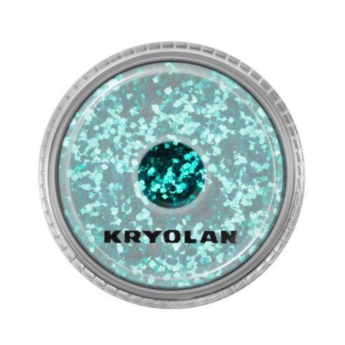 Kryolan POLYESTER GLIMMER COARSE (SEA SPRAY) Gruby sypki brokat - SEA SPRAY (2901)