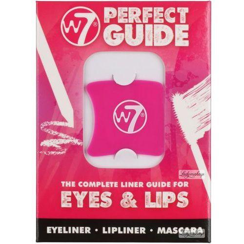 W7  - the complete liner guide for eyes & lips - zestaw 4 szablonów do makijażu (5060503752634)
