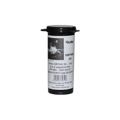 Rollei Film ORTHO 25 120 ISO 25/15°