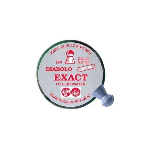 śrut 5,5 mm JSB EXACT JUMBO 250 szt. + darmowy zwrot (EXA5,50)