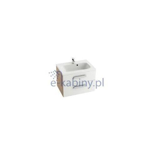 Ravak szafka podumywalkowa sd chrome ii 700 biała/cappuccino x000000921