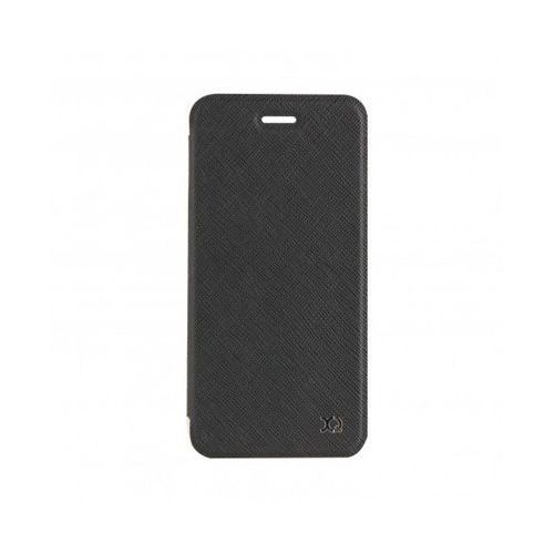 Xqisit Etui flap cover adour do iphone 7 czarny (4029948050751)