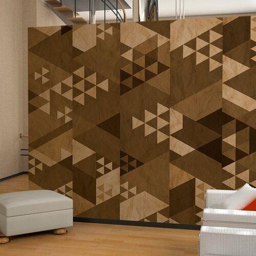 Artgeist Fototapeta - brązowy patchwork