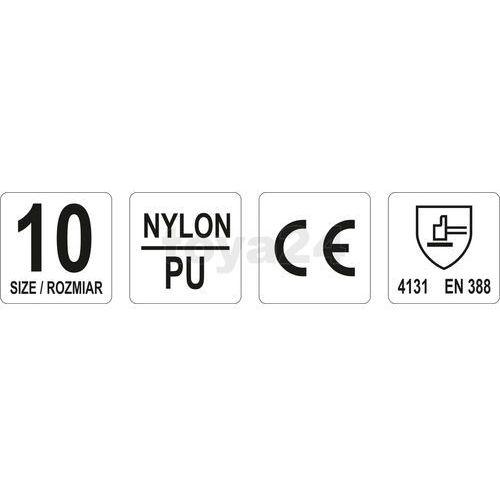 Rękawice robocze, nylonowe czarne / yt-7473 / - zyskaj rabat 30 zł marki Yato