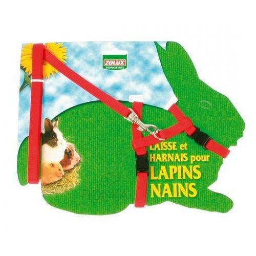 szelki dla królika regulowane marki Zolux