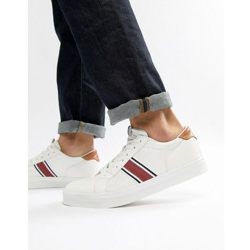 trainers with mesh detail in white - white marki River island