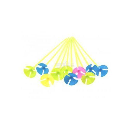 Nice life Patyki do balonów z koszyczkiem