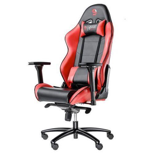 Fotel dla gracza gear sr500 (czerwony) marki Silentiumpc