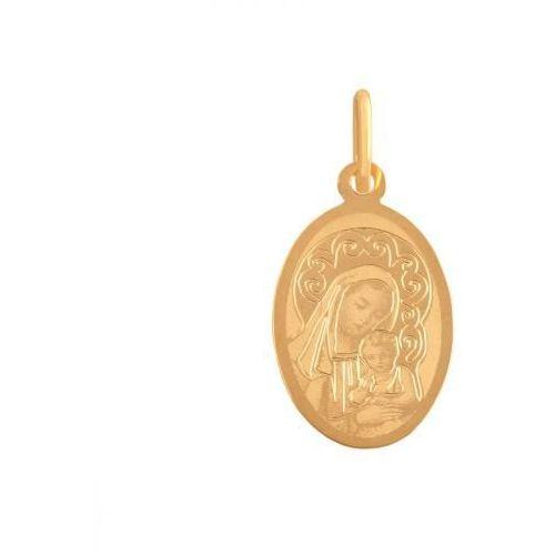 Złoty medalik - 37907 - pr.585 wyprodukowany przez Rodium