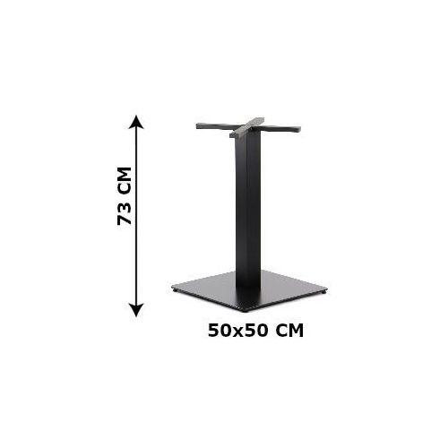 Podstawa stolika SH-5002-6/B, 50x50 cm (stelaż stolika), kolor czarny, SH-5002-6/B