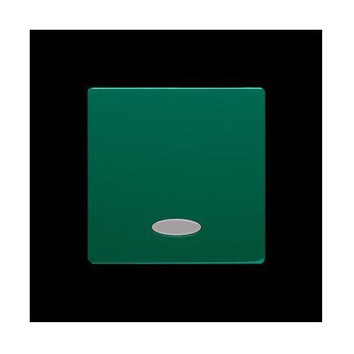 Kontakt-simon Klawisz pojedynczy z oczkiem do łączników/przycisków z podświetleniem; zielony