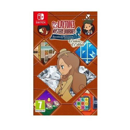 Nintendo Gra switch layton's mystery journey: katrielle and the millionaires' conspiracy deluxe edition (0045496425517)