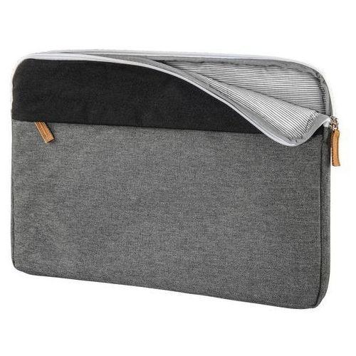 Etui na laptopa florence design 13.3 cala czarno-szary marki Hama