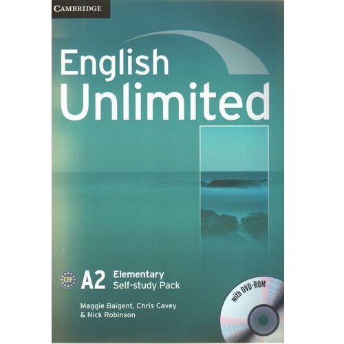 English Unlimited Elementary Workbook (zeszyt ćwiczeń) with DVD-ROM (ilość stron 76)