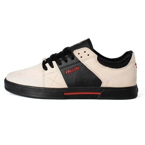Buty - trooper- chris cole beige/black/red (beige-black-red) rozmiar: 39 marki Fallen