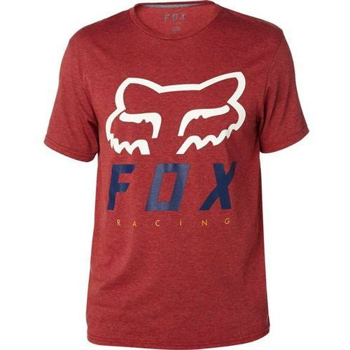 Koszulka - heritage forger ss tech tee heather burgundy (106) rozmiar: xl marki Fox