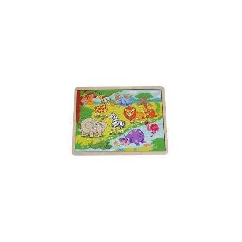 Playme Układanka puzzle dzikie zwierzęta
