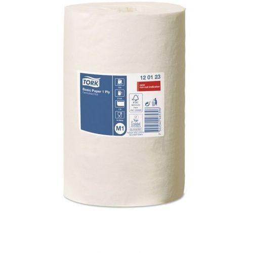 Czyściwo papierowe Tork do podstawowych zadań, jednowarstwowe, białe