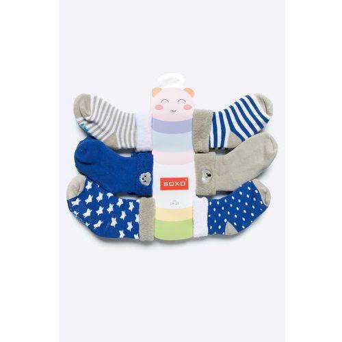 - skarpetki dziecięce (6-pack) marki Soxo