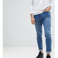 Brooklyn supply co. Brooklyn supply co contrast mid wash skinny dumbo jeans - blue