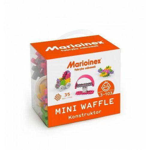 Marioinex Klocki waffle mini 35 sztuk dziewczynka - DARMOWA DOSTAWA OD 199 ZŁ!!!