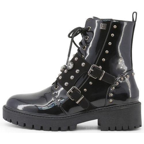 Laura Biagiotti buty za kostkę damskie 39 czarny (8056151350589)