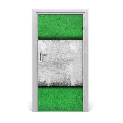 Naklejka samoprzylepna na drzwi ścianę Zielony mur