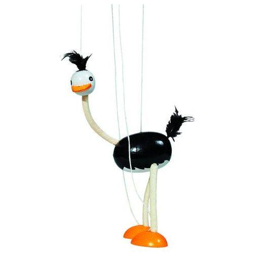 Goki Drewniana marionetka, struś (4013594291040)