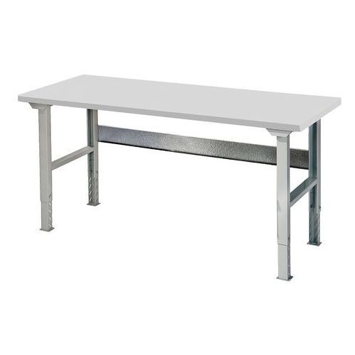 Stół roboczy SOLID, 500 kg, 1500x800 mm, laminat