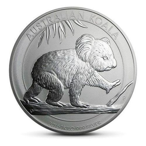 Australijski koala 1 kg srebra marki Perth mint