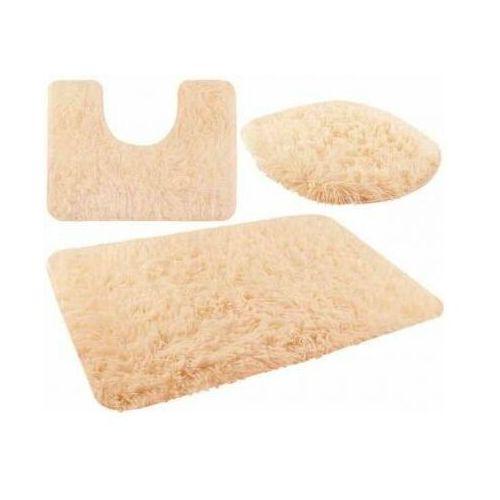 Zestaw dywaników łazienkowych jasny brąz marki Iso trade
