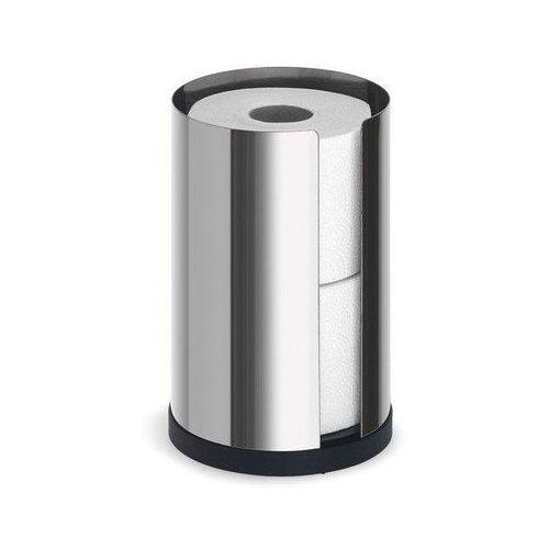 Stojak na papier toaletowy Nexio stal polerowana 2 rolki