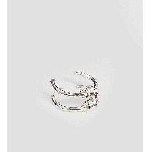 Kingsley Ryan Sterling Silver Wire Wrap Ear Cuff - Silver