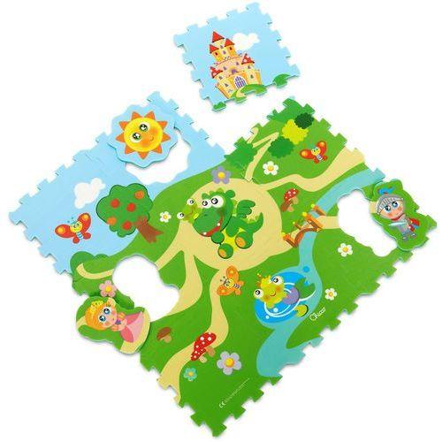 Miękkie puzzle zamek marki Chicco