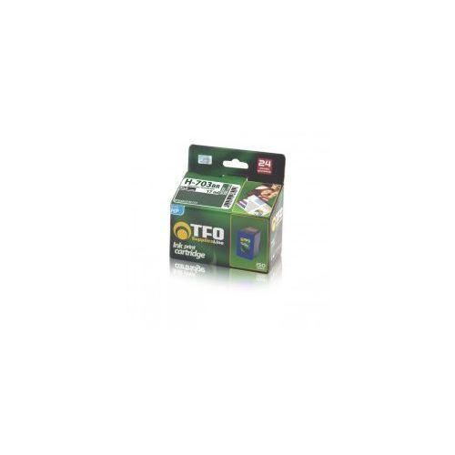 Tusz tfo zamiennik do hp 703 (cd887ae) – czarny 17 ml (600 stron) marki Telforceone