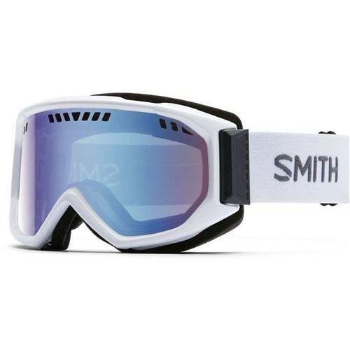 gogle snowboardowe SMITH - Scope Pro White Blue Sensor Mirror (99ZF) rozmiar: OS