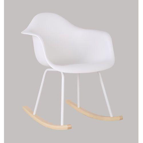 Fotel, krzesło bujane rar kim white marki Exitodesign